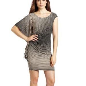 Ella Moss Batwing Ruched Dress